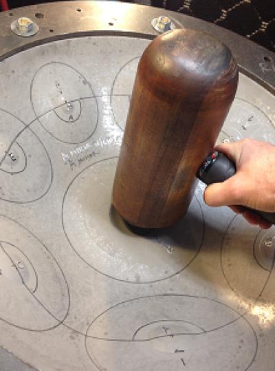 Handpan tuning hammer pic